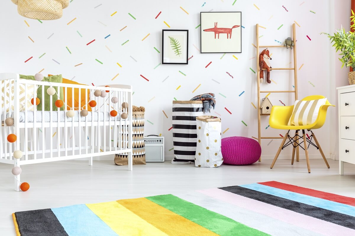 Designing Ideas For Beautiful Nursery on a Budget