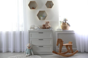 Changing Table with Drawer